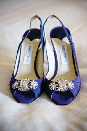 Blue Jimmy Choo Shoes