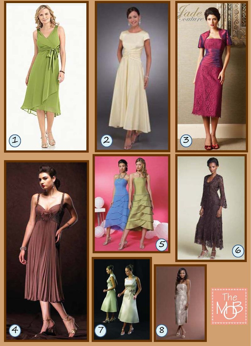 IB - Tea Length Dresses