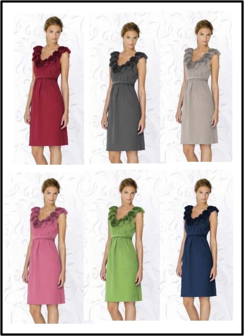MOB dresses-color choices
