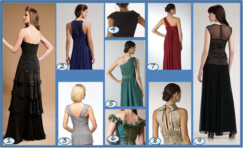 Inspiration Board - Dress Back