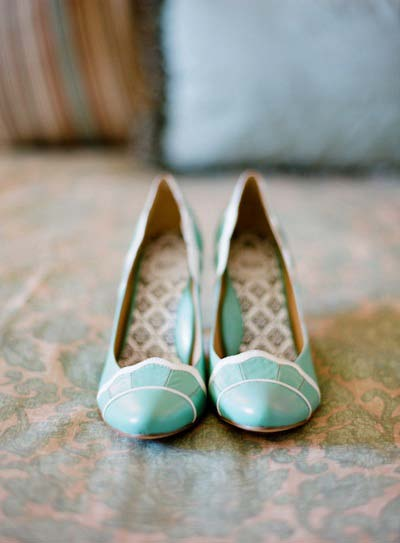 Robins Egg Blue Shoes