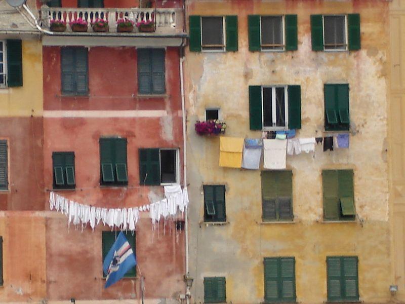 Housefront in Portofino